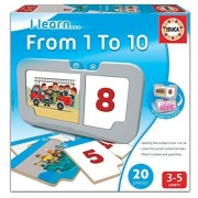 Educa I Learn From 1 To 10 Card Game By Educa