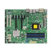 Supermicro X11SAE Placa Base para Servidor (Intel, LGA 1151 (Zócalo H4), 80 W, E3-1200, DDR4-SDRAM, 1600,1866,2133 MHz)