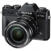 Fujifilm X-T20 Aparat Foto Mirrorless 24MP APSC 4K Kit cu Obiectiv 18-55 F/2.8-4 R LM OIS Negru
