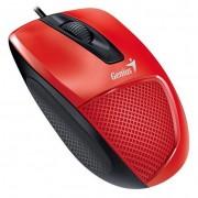 Genius DX-150X vezetékes optikai egér - piros