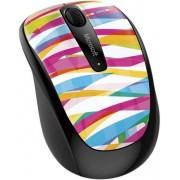 Mouse Microsoft Wireless BlueTrack Mobile 3500 (Bansage Stripe)