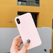 Funda para celular iphone X/xs TPU Rosa