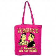Romance Is Overreated Tote Bag, Tote Bag