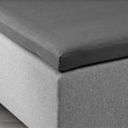 JYSK Hoeslaken topper 180x200x6-10 grijs