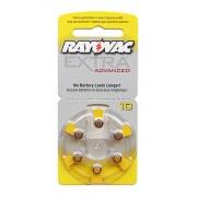 Baterii auditive zinc-aer Rayovac Extra Advanced 10