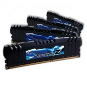 Memorie G.Skill RipJawsZ 16GB (4x4GB) DDR3 PC3-19200 CL10 1.65V 2400MHz Intel Z77 Quad Channel Kit, F3-2400C10Q-16GZH
