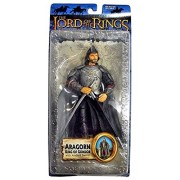 Lord of the Rings Trilogy Return of the King Action Figure Series 2 Aragorn King of Gondor with Anduril Sword