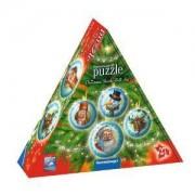 3D Пъзел Ravensburger 27 части - Коледни топки в подаръчна кутия, 7011678