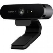 Logitech 4K webkamera Logitech BRIO, stojánek, upínací uchycení