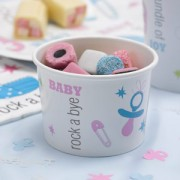 Tiny Feet Paper Treat Tubs