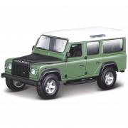 Bburago Schaalmodel Land Rover Defender 110 groen 1:32