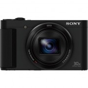 Aparat foto digital Sony Cyber-Shot DSC-HX90, High zoom, 18.2MP, Wi-Fi, NFC, Black