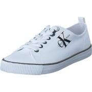 Calvin Klein Jeans Dora Canvas White, Skor, Sneakers & Sportskor, Låga sneakers, Vit, Dam, 37