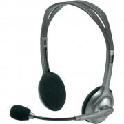Logitech H110 szürke mikrofonos Fejhallgató/Headset (2 év garancia)
