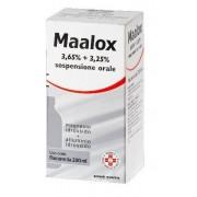 Sanofi Spa Maalox 3,65% + 3,25% Sospensione Orale Flacone Da 200 Ml
