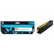 Cartridge HP No.971 CN624AE yellow, X451dn/X551dw/X476dn/X576dw 2500str.