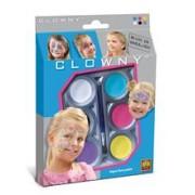 Ses Clowny - Set Pictura Pe Fata Pentru Fete (6 Vopsele)