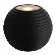 Lucide Ayo wandlamp LED IP54 zwart