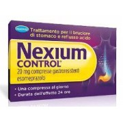PFIZER ITALIA Srl Nexium Contr, 20 Mg - Compressa Gastroresistente - Uso Orale - Blister (Alu) - 14 Compresse