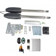 Kit Automatizare Porți Batante 350kg/brat cu Fotocelule si Lampa