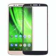 Motorola Front screen buitenste glazen lens voor Motorola Moto G6 spelen (zwart)
