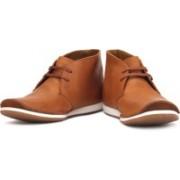 Clarks Newton Mass Boots For Men(Tan, White)