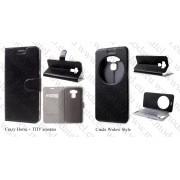 "Asus Zenfone 3 Max ZC553KL (5.5"") (кожен калъф) 'Book style'"