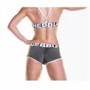 Fitness šortky 266 khaki - NEBBIA