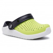 Чехли CROCS - Literide Clog K 205964 Lime Punch/Black