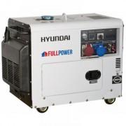 DHY8600SE Hyundai Generator de curent electric , putere 7 kVA , motor Hyundai , 230 V/400 V