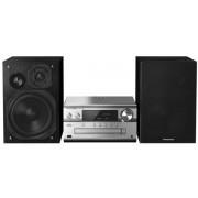 Micro Sistem Audio Panasonic SC-PMX82EG-S, 120 W, USB, Bluetooth (Negru/Argintiu)