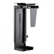 Newstar NM-CPU100BLACK Desk-mounted CPU holder Black CPU holder
