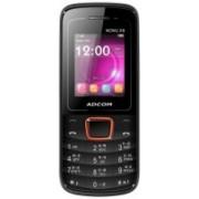 Adcom Nonu X9 With Whatsapp & Wireless Fm(Black, Orange)
