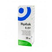 Laboratoires Thea Hyabak Soluzione Oftalinica 0,15% 10ml