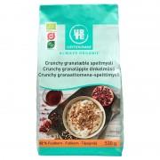 Urtekram Crunchy Granatäpple Dinkelmüsli EKO 530 g Frukost