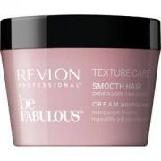 Revlon Professional Cuidado del cabello Be Fabulous Texture Care Smooth Hair C.R.E.A.M. Mask 500 ml