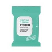 Toalhitas desmaquilhantes purificantes pele oleosa tendencia acne 20 toalhitas - Comodynes