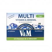 Nyform V&M Multivitamin & Mineral 120 tabletter