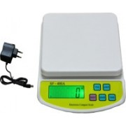 Virgo Digital Kitchen Multi-Purpose 10 Kg Weighing Scale(White)