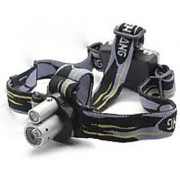 Rechargeable/Adjustable Double led Focus Beam LED Headlamp Flashlight