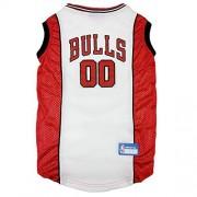 Pets First NBA Pet Mesh Tank Top, Chicago Bulls, Extra-Small