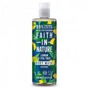 Faith in Nature citrom és teafa tusfürdő - 400ml