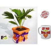 ES TABLE PALM GREEN With Freebies Mug
