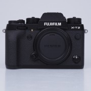 Fujifilm X-T2 Digital Cameras Black Body with XF 27mm F2.8 Black Lens