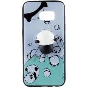 Husa Protectie Spate Star AMASQH_SG_S8 Squishy 3D Panda pentru Samsung Galaxy S8
