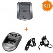 Incarcator Power3000 pentru acumulator Canon tip LP-E6 + Bonus adaptor auto