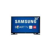 Smart TV LED 32 HD Samsung 32J4300 com Connect Share Movie, Screen Mirroring, Wi-Fi, Entradas HDMI e Entrada USB