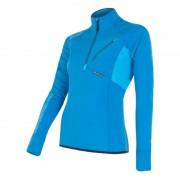 Sensor Tecnostretch Fleece trui blauw dames