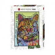 Puzzle Heye If Cats Could Talk, 1000 piese