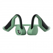 CE ROHS Certified BH128 Qualcomm QCC3003 Bluetooth 5.0 Wireless Bone Conduction Outdoor Sport Headset with Microphone - Green